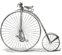 На иллюстрации — велосипед «Кенгуру», усовершенствованный «паук». У этого велосипеда впервые появилась цепная передача.