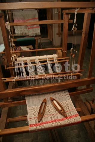 фото ткацкий станок старинный